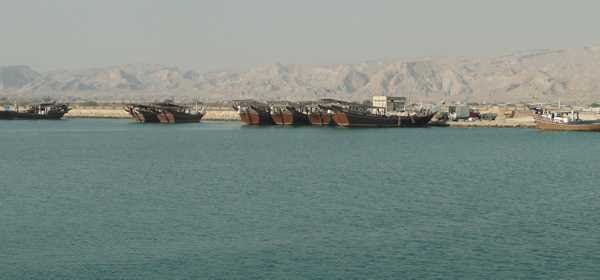 Chirouye Fishing Port Project, as Parsian Concrete Pontoons arrived