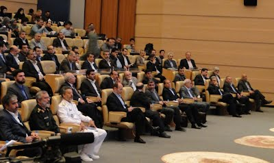 Opening Ceremony: Parsian pontoons &  floating concrete structures in CCIMO 2012, Kish, Persian Gulf, May 2012
