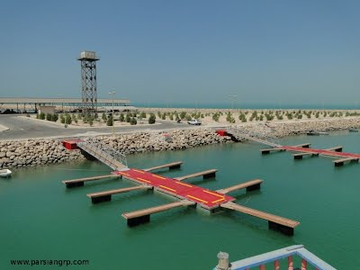 The world's 1st Blended Truss-arm in Gangway (BTG) for concrete pontoons launched in Persian Gulf